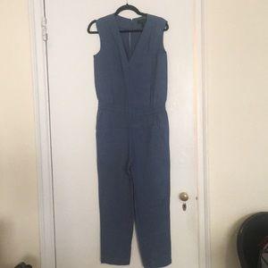 J. Crew blue jumpsuit - size 2
